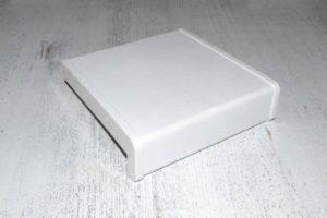 Риф белый сатин