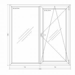 Окно-Millenium-1500x1500xi24i