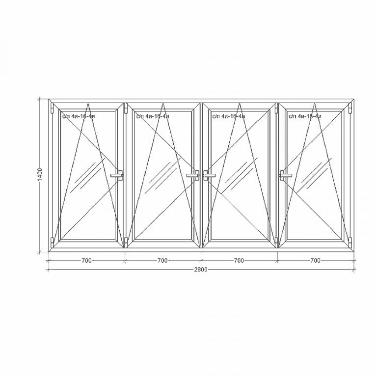 Окно-Millenium-2800x1400xi24ix4