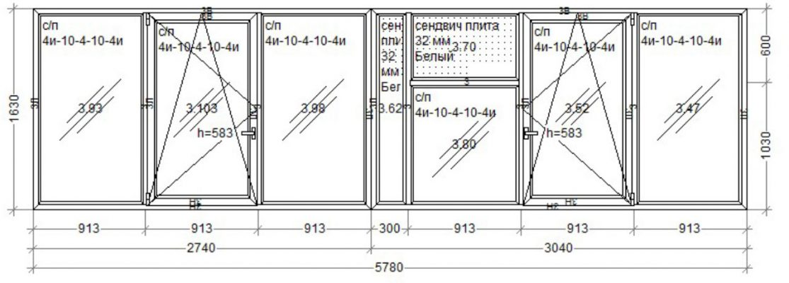 Окна WDS7 5780x1630